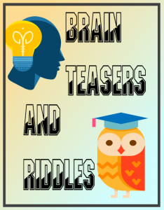 Brain teasers and riddles image