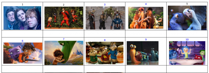 Disney film competition pictures